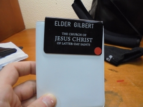 My new name tag!