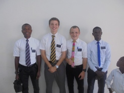 The missionaries in my ward.