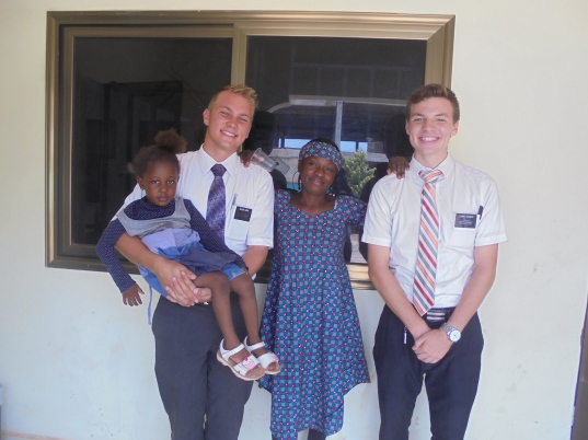 2017 5 22 Elder Leird and Amina