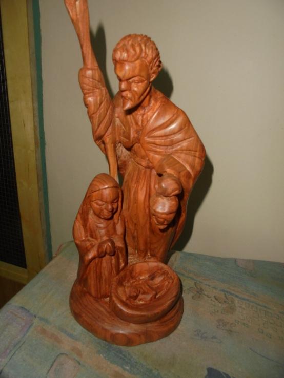 2017 9 18 Nativity statue