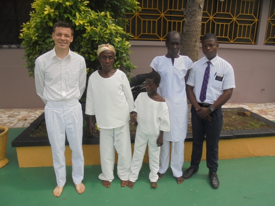 2017 10 16 Amoako family with Ben and Elder Gasah