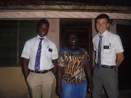2017 10 23 visiting with Sister Hannah from Asuoyeboah